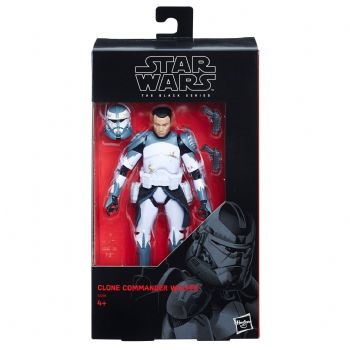 "Star Wars The Black Series Exclusive Commander Wolffe 6"" Action Figure"